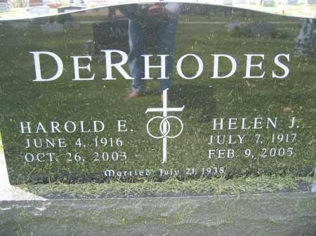 DERHODES, HELEN J. - Union County, Ohio | HELEN J. DERHODES - Ohio Gravestone Photos