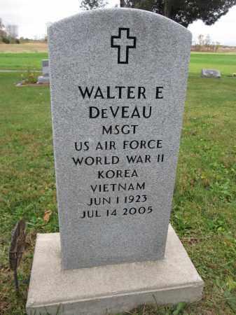 DEVEAU, WALTER E. - Union County, Ohio   WALTER E. DEVEAU - Ohio Gravestone Photos