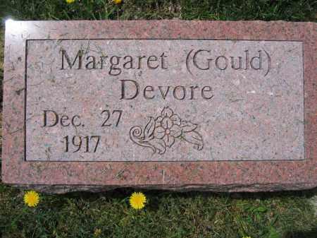 DEVORE, MARGARET - Union County, Ohio | MARGARET DEVORE - Ohio Gravestone Photos