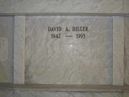 DILGER, DAVID A. - Union County, Ohio   DAVID A. DILGER - Ohio Gravestone Photos