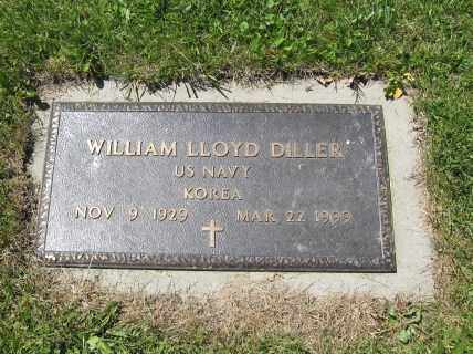 DILLER, WILLIAM LLOYD - Union County, Ohio | WILLIAM LLOYD DILLER - Ohio Gravestone Photos