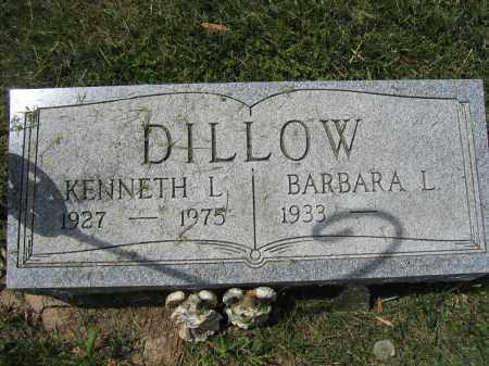 DILLOW, KENNETH L. - Union County, Ohio   KENNETH L. DILLOW - Ohio Gravestone Photos
