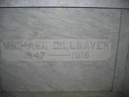 DILLSAVER, MICHAEL - Union County, Ohio | MICHAEL DILLSAVER - Ohio Gravestone Photos
