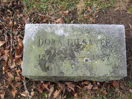 DILSAVER, DORA - Union County, Ohio | DORA DILSAVER - Ohio Gravestone Photos