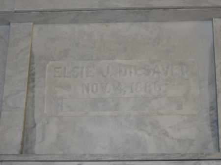 DILSAVER, ELSIE J. - Union County, Ohio | ELSIE J. DILSAVER - Ohio Gravestone Photos