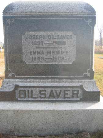 DILSAVER, EMMA - Union County, Ohio   EMMA DILSAVER - Ohio Gravestone Photos