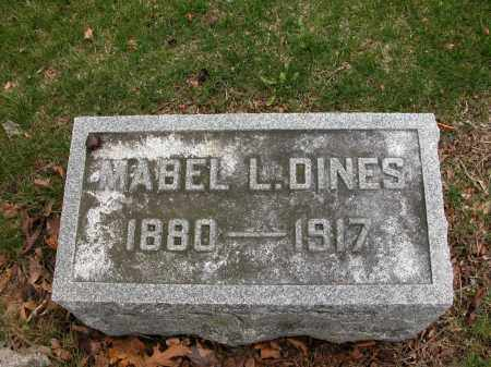 DINES, MABEL L. - Union County, Ohio | MABEL L. DINES - Ohio Gravestone Photos