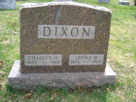 DIXON, CHARLES O. - Union County, Ohio | CHARLES O. DIXON - Ohio Gravestone Photos