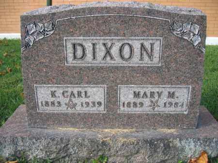 DIXON, MARY M. - Union County, Ohio | MARY M. DIXON - Ohio Gravestone Photos