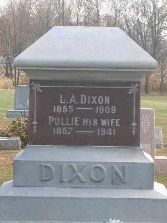 DIXON, L.A. - Union County, Ohio | L.A. DIXON - Ohio Gravestone Photos
