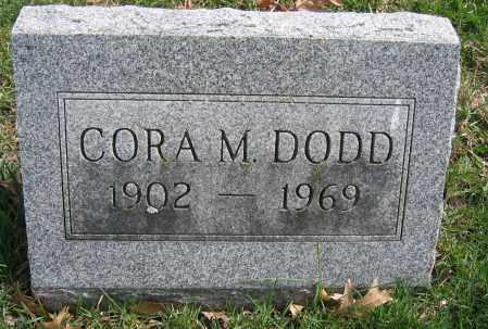 DODD, CORA M. - Union County, Ohio   CORA M. DODD - Ohio Gravestone Photos