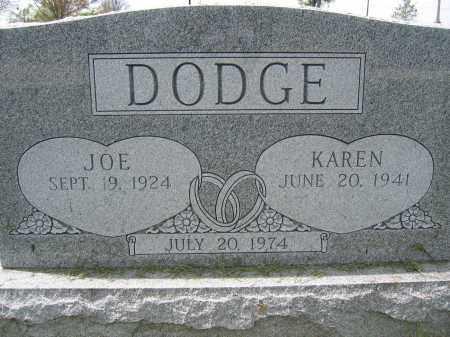 DODGE, JOE - Union County, Ohio | JOE DODGE - Ohio Gravestone Photos