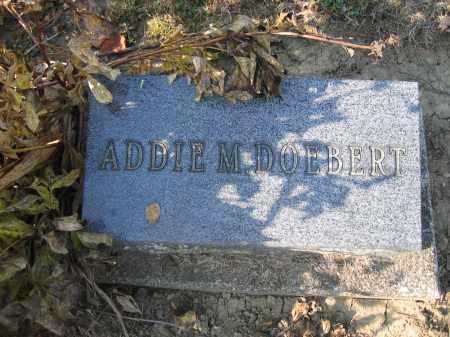 DOEBERT, ADDIE M. - Union County, Ohio | ADDIE M. DOEBERT - Ohio Gravestone Photos