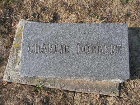 DOEBERT, CHARLIE - Union County, Ohio   CHARLIE DOEBERT - Ohio Gravestone Photos