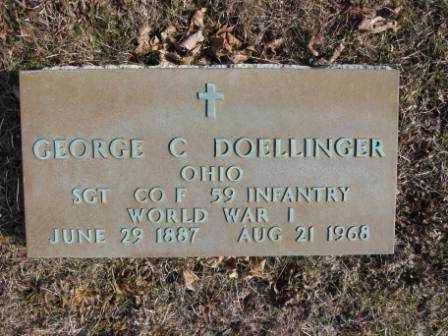 DOELLINGER, GEORGE C. - Union County, Ohio   GEORGE C. DOELLINGER - Ohio Gravestone Photos