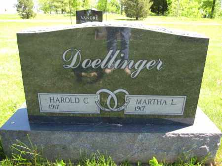 DOELLINGER, MARTHA L. - Union County, Ohio | MARTHA L. DOELLINGER - Ohio Gravestone Photos