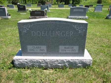 DOELLINGER, CLARA - Union County, Ohio | CLARA DOELLINGER - Ohio Gravestone Photos