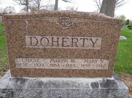 DOHERTY, MARY V. - Union County, Ohio | MARY V. DOHERTY - Ohio Gravestone Photos
