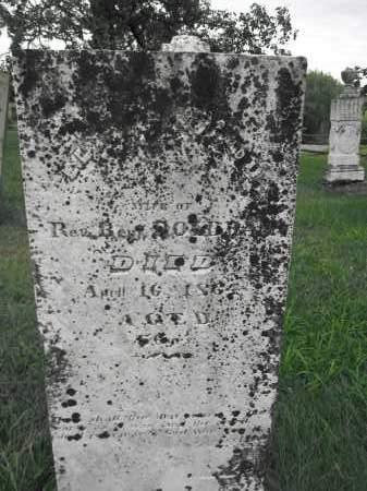DOLBEAR, ELIZA WOODS - Union County, Ohio | ELIZA WOODS DOLBEAR - Ohio Gravestone Photos