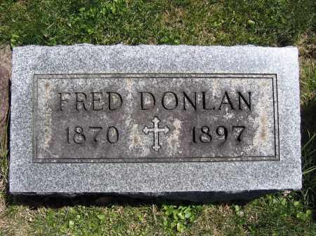 DONLAN, FRED - Union County, Ohio | FRED DONLAN - Ohio Gravestone Photos