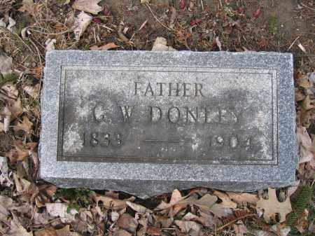 DONLEY, C.W. - Union County, Ohio   C.W. DONLEY - Ohio Gravestone Photos