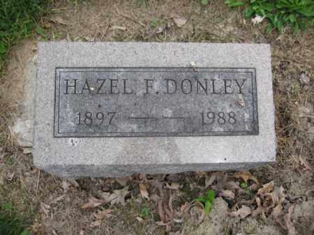 DONLEY, HAZEL F. - Union County, Ohio | HAZEL F. DONLEY - Ohio Gravestone Photos