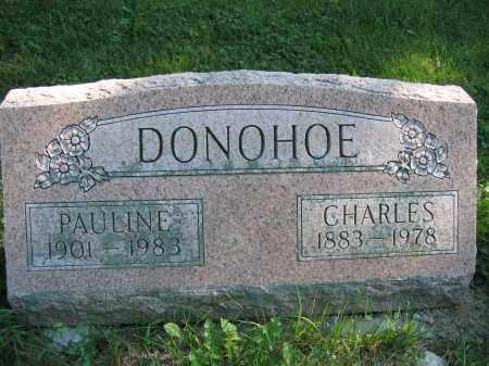 DONOHOE, CHARLES - Union County, Ohio | CHARLES DONOHOE - Ohio Gravestone Photos
