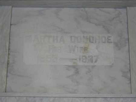 DONOHOE, MARTHA - Union County, Ohio | MARTHA DONOHOE - Ohio Gravestone Photos