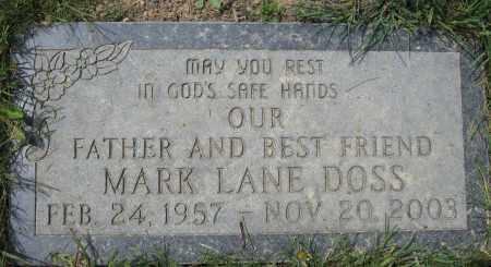 DOSS, MARK LANE - Union County, Ohio | MARK LANE DOSS - Ohio Gravestone Photos