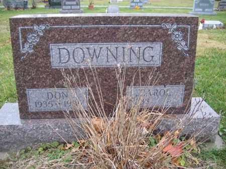 DOWNING, CAROL - Union County, Ohio   CAROL DOWNING - Ohio Gravestone Photos