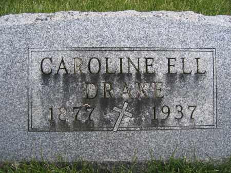 DRAKE, CAROLINE - Union County, Ohio | CAROLINE DRAKE - Ohio Gravestone Photos