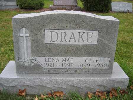 DRAKE, EDNA MAE - Union County, Ohio | EDNA MAE DRAKE - Ohio Gravestone Photos