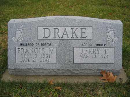 DRAKE, FRANCIS M. - Union County, Ohio | FRANCIS M. DRAKE - Ohio Gravestone Photos