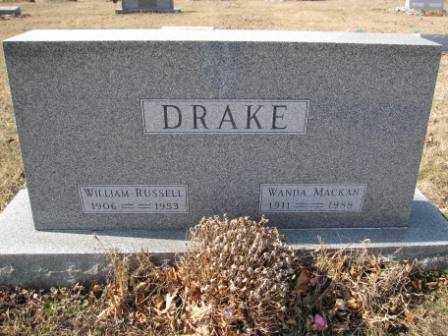 DRAKE, WANDA MACKAN - Union County, Ohio | WANDA MACKAN DRAKE - Ohio Gravestone Photos