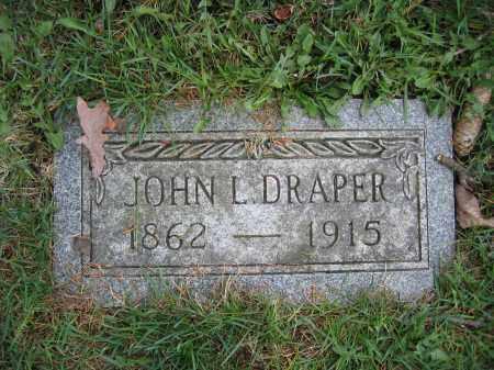 DRAPER, JOHN L. - Union County, Ohio | JOHN L. DRAPER - Ohio Gravestone Photos