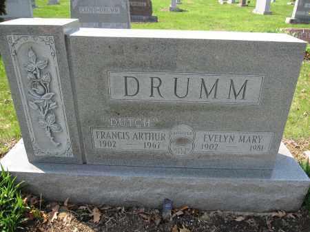 DRUMM, FRANCIS ARTHUR - Union County, Ohio   FRANCIS ARTHUR DRUMM - Ohio Gravestone Photos