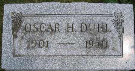 DUHL, OSCAR H. - Union County, Ohio | OSCAR H. DUHL - Ohio Gravestone Photos