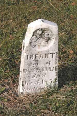 DUNLAP, INFANT - Union County, Ohio   INFANT DUNLAP - Ohio Gravestone Photos