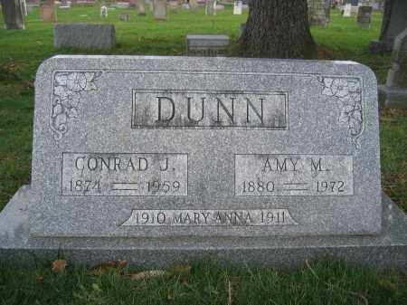 DUNN, CONRAD J. - Union County, Ohio | CONRAD J. DUNN - Ohio Gravestone Photos