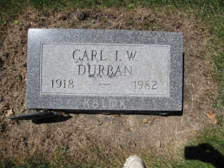 DURBAN, CARL I.W. - Union County, Ohio | CARL I.W. DURBAN - Ohio Gravestone Photos