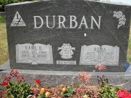 DURBAN, REBA - Union County, Ohio   REBA DURBAN - Ohio Gravestone Photos