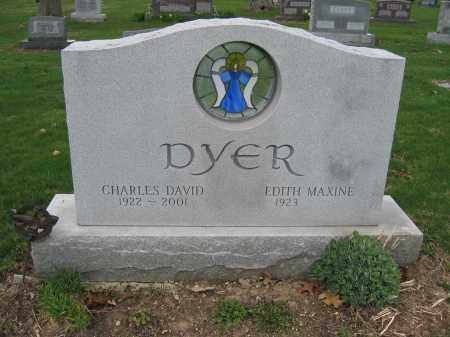 DYER, EDITH MAXINE - Union County, Ohio | EDITH MAXINE DYER - Ohio Gravestone Photos