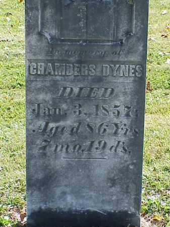 DYNES, CHAMBERS - Union County, Ohio   CHAMBERS DYNES - Ohio Gravestone Photos