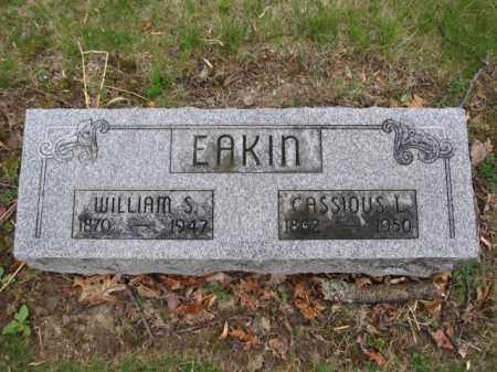 EAKIN, CASSIOUS L. - Union County, Ohio | CASSIOUS L. EAKIN - Ohio Gravestone Photos