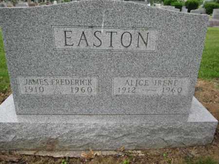 EASTON, ALICE IRENE - Union County, Ohio | ALICE IRENE EASTON - Ohio Gravestone Photos