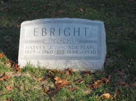 EBRIGHT, HARVEY J. - Union County, Ohio | HARVEY J. EBRIGHT - Ohio Gravestone Photos