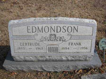 EDMONDSON, GERTRUDE - Union County, Ohio | GERTRUDE EDMONDSON - Ohio Gravestone Photos