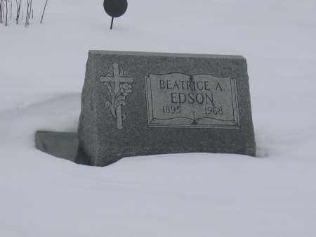 EDSON, BEATRICE A. - Union County, Ohio   BEATRICE A. EDSON - Ohio Gravestone Photos