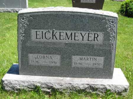 EICKEMEYER, MARTIN - Union County, Ohio | MARTIN EICKEMEYER - Ohio Gravestone Photos