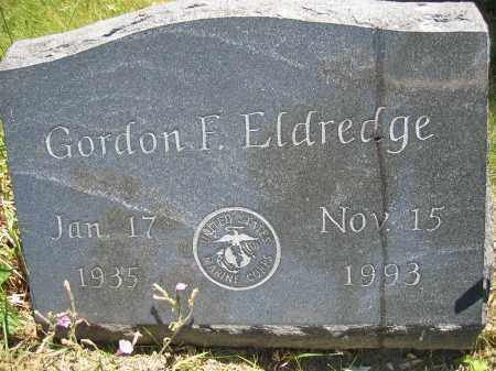 ELDREDGE, GORDON F. - Union County, Ohio | GORDON F. ELDREDGE - Ohio Gravestone Photos